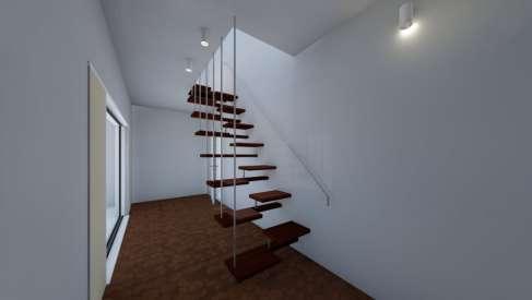 Case su più piani ma con spazi ristretti: la soluzione sono le scale a pedata alternata