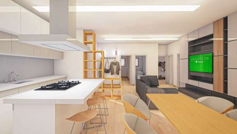 Iconaservice, Aggiungi un posto… in casa: nuova camera e un living più moderno