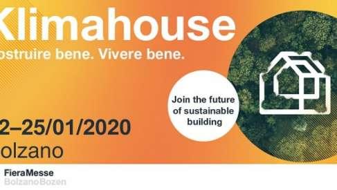 """Costruire bene, vivere bene: dal 22 al 25 gennaio torna a Bolzano """"Klimahouse"""""""