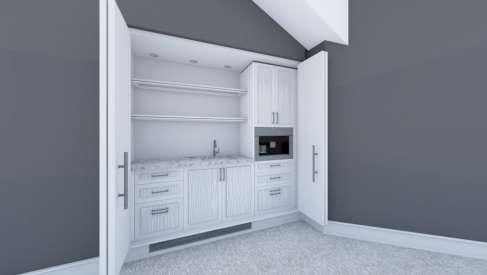 La soluzione salva-spazio per piccoli appartamenti: ecco le cucine a scomparsa